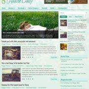 HealthDaily Blogger Templates