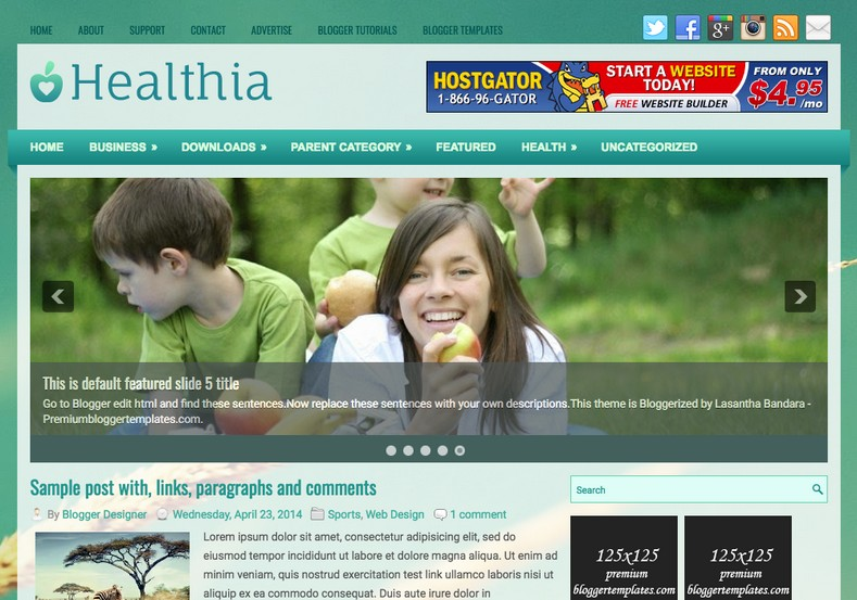 Healthia Clean Blogger Template. Blogger Themes. Free Blogspot templates for your blogger blog. Best suitable for news blog templates. Ads ready blogspot templates help for add adsense ad code and easily showing adsence ads in your blog. Adapted from WordPress templates are converted from WordPress themes. It is help for take your rich. Blogger magazine template specially designed for magazine blogs. The writers can utilize this themes for take blog attractive to users. Elegant themes are more used themes in most of the blogs. Minimalist blog templates. Free premium blogger themes means, themes authors release two types of themes. One is premium another one is free. Premium templates given for cost but free themes given for no cost. You no need pay From California, USA. $10 USD, or $20 USD and more. But premium buyers get more facilities from authors But free buyers. If you run game or other animation oriented blogs, and you can try with Anime blog templates. Today the world is fashion world. So girls involve to the criteria for make their life fashionable. So we provide fashion blogger themes for make your fashionable. News is most important concept of the world. Download news blogger templates for publishing online news. You can make your blog as online shopping store. Get Online shopping store blogger template to sell your product. Navigation is most important to users find correct place. Download drop down menu, page navigation menu, breadcrumb navigation menu and vertical dropdown menu blogspot themes for free. Google Guide. Blogging tips and Tricks for bloggers. Google bloggers can get blogspot trick and tips for bloggers. Blog templates portfolio professional blogspot themes, You can store your life moments with your blogs with personal pages templates. Video and movie blogs owners get amazing movie blog themes for their blogs. Business templates download. We publish blogger themes for photographers. Photographers easily share photos via photography blog themes. St valentine Christmas Halloween templates. Download Slideshow slider templates for free. Under construction coming soon custom blogspot template. Best beautiful high quality Custom layouts Blog templates from templateism, SoraTemplates, templatetrackers, simple, cute free premium professional unique designs blog themes blogspot themes. Seo ready portfolio anime fashion movie movies health custom layouts best download blogspot themes simple cute free premium professional unique designs xml html code html5.