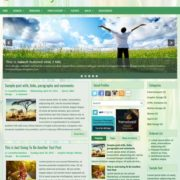 Healthyca Blogger Templates