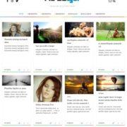 Hellya Responsive Blogger Templates