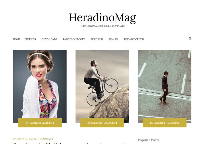 HeradinoMag Blogger Template. Free Blogger templates. Blog templates. Template blogger, professional blogger templates free. blogspot themes, blog templates. Template blogger. blogspot templates 2013. template blogger 2013, templates para blogger, soccer blogger, blog templates blogger, blogger news templates. templates para blogspot. Templates free blogger blog templates. Download 1 column, 2 column. 2 columns, 3 column, 3 columns blog templates. Free Blogger templates, template blogger. 4 column templates Blog templates. Free Blogger templates free. Template blogger, blog templates. Download Ads ready, adapted from WordPress template blogger. blog templates Abstract, dark colors. Blog templates magazine, Elegant, grunge, fresh, web2.0 template blogger. Minimalist, rounded corners blog templates. Download templates Gallery, vintage, textured, vector, Simple floral. Free premium, clean, 3d templates. Anime, animals download. Free Art book, cars, cartoons, city, computers. Free Download Culture desktop family fantasy fashion templates download blog templates. Food and drink, games, gadgets, geometric blog templates. Girls, home internet health love music movies kids blog templates. Blogger download blog templates Interior, nature, neutral. Free News online store online shopping online shopping store. Free Blogger templates free template blogger, blog templates. Free download People personal, personal pages template blogger. Software space science video unique business templates download template blogger. Education entertainment photography sport travel cars and motorsports. St valentine Christmas Halloween template blogger. Download Slideshow slider, tabs tapped widget ready template blogger. Email subscription widget ready social bookmark ready post thumbnails under construction custom navbar template blogger. Free download Seo ready. Free download Footer columns, 3 columns footer, 4columns footer. Download Login ready, login support template blogger. Drop down menu