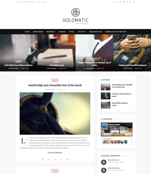 Holomatic Blogger Templates