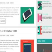 Hooly Responsive Blogger Templates