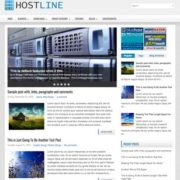 HostLine Blogger Templates