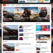 Hot Games Gaming Blogger Templates