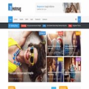 Hot mag Responsive Blogger Templates