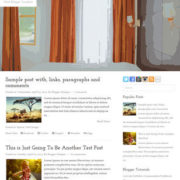 Hotel Blogger Templates