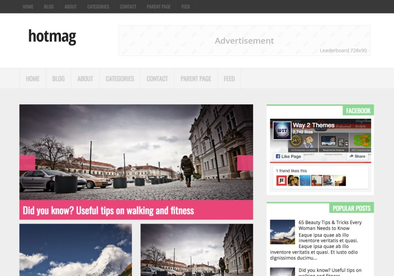 Hotmag Blogger Template. Blogger Themes. Free Blogspot templates for your blogger blog. Best suitable for news blog templates. Best Ads ready blogspot templates help for add adsense ad code and easily showing adsence ads in your blog. Adapted from WordPress templates are converted from WordPress themes. It is help for take your rich. Blogger magazine template specially designed for magazine blogs. The writers can utilize this themes for take blog attractive to users. Elegant themes are more used themes in most of the blogs. Use minimalist blog templates for rich look for your blog. Free premium blogger themes means, themes authors release two types of themes. One is premium another one is free. Premium templates given for cost but free themes given for no cost. You no need pay From California, USA. $10 USD, or $20 USD and more. But premium buyers get more facilities from authors But free buyers. If you run game or other animation oriented blogs, and you can try with Anime blog templates. Today the world is fashion world. So girls involve to the criteria for make their life fashionable. So we provide fashion blogger themes for make your fashionable. News is most important concept of the world. Download news blogger templates for publishing online news. You can make your blog as online shopping store. Get Online shopping store blogger template to sell your product. Navigation is most important to users find correct place. Download drop down menu, page navigation menu, breadcrumb navigation menu and vertical dropdown menu blogspot themes for free. Google Guide to blogging tips and tricks for bloggers. Google bloggers can get blogspot trick and tips for bloggers. Blog templates portfolio professional blogspot themes, You can store your life moments with your blogs with personal pages templates. Video and movie blogs owners get amazing movie blog themes for their blogs.  Business templates download. We publish blogger themes for photographers.  Photographers easily share photos via photography blog themes. St valentine Christmas Halloween templates. Download Slideshow slider templates for free.  Under construction coming soon custom blogspot template. Best beautiful high quality Custom layouts Blog templates from templateism, soratemplates, templatetrackers, simple, cute free premium professional unique designs blog themes blogspot themes. Seo ready portfolio anime fashion movie movies health custom layouts best download blogspot themes simple cute free premium professional unique designs xml html code html5. Hotmag Blogger Template.