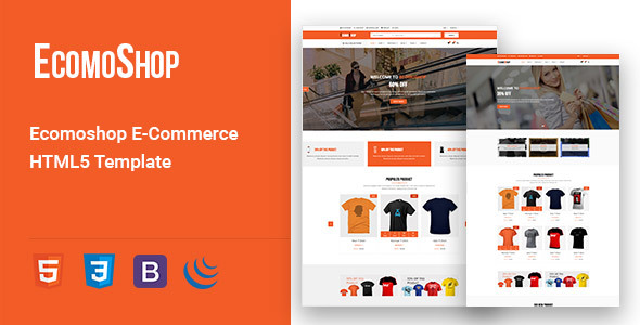 In this tutorial we will find easy and best way to create website using html5 templates for ecommerce
