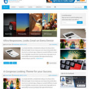 Iconic One Responsive Blogger Templates