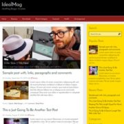 IdealMag Blogger Templates