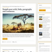 Ignite Responsive Blogger Templates