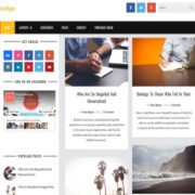 Indigo Blogger Templates