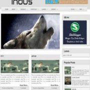 Indus Blogger Templates