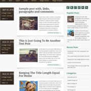 Infosource Blogger Templates