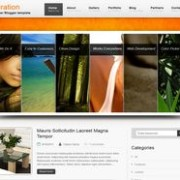 Inspiration blogger template