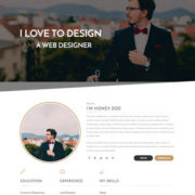 Isaac Landing Page Blogger Templates