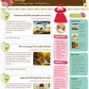 It is a Girl Responsive Blogger Templates