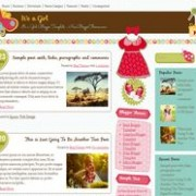 It is a Girl Responsive Blogger Template