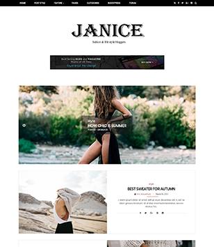 Janice Blogger Templates