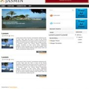 Jasmin Blogger Templates