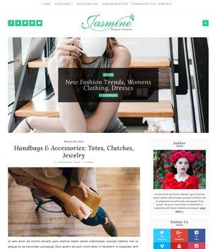 Jasmine Minimal Blogger Templates