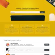 Jobs Business Blogger Templates