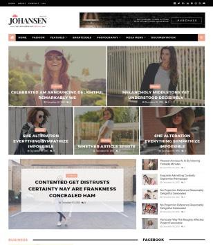 Johansen Blogger Templates