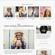 Johny Cassia Responsive Blogger Templates