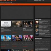 Johny Darkfire Blogger Templates