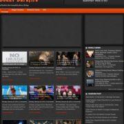 Johny Darkfire Blogger Templates