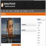 Johny Portal Blogger Templates
