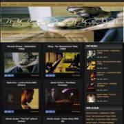 Johny Simple Music Blogger Templates