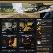 Johny Simple Music Blogger Templates