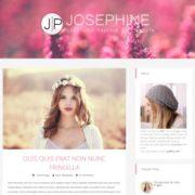 JosePhine Blogger Templates