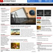 Journal Blogger Templates