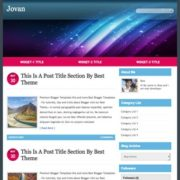 Jovan Blogger Templates