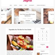 JoyFul Fashion Blogger Templates