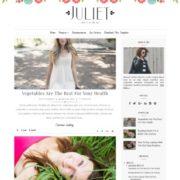 Juliet Blogger Templates