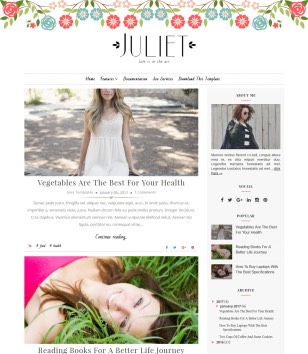 Juliet Blogger Templates