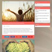 Jumaa Responsive Blogger Templates