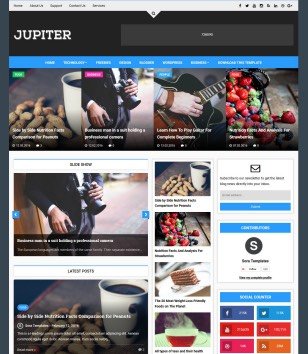 Jupiter Blogger Templates