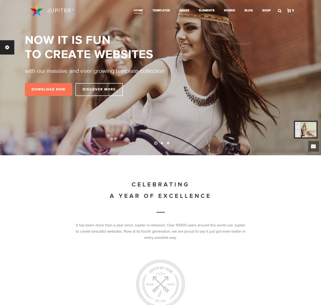 Jupiter WordPress Theme