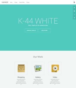 K44 White Responsive Blogger Templates