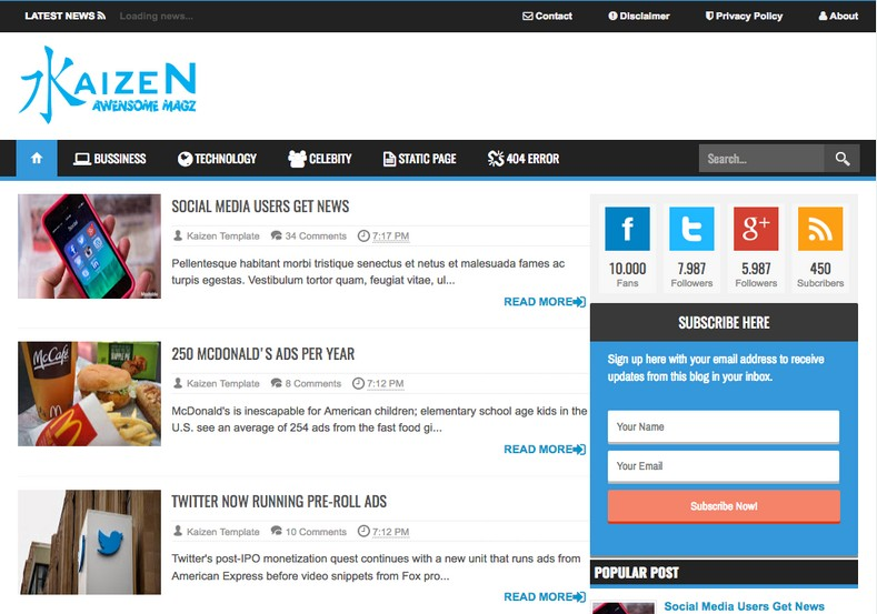 Kaizen Awesome Magz Blogger Template. Free Blogger templates. Blog templates. Template blogger, professional blogger templates free. blogspot themes, blog templates. Template blogger. blogspot templates 2013. template blogger 2013, templates para blogger, soccer blogger, blog templates blogger, blogger news templates. templates para blogspot. Templates free blogger blog templates. Download 1 column, 2 column. 2 columns, 3 column, 3 columns blog templates. Free Blogger templates, template blogger. 4 column templates Blog templates. Free Blogger templates free. Template blogger, blog templates. Download Ads ready, adapted from WordPress template blogger. blog templates Abstract, dark colors. Blog templates magazine, Elegant, grunge, fresh, web2.0 template blogger. Minimalist, rounded corners blog templates. Download templates Gallery, vintage, textured, vector, Simple floral. Free premium, clean, 3d templates. Anime, animals download. Free Art book, cars, cartoons, city, computers. Free Download Culture desktop family fantasy fashion templates download blog templates. Food and drink, games, gadgets, geometric blog templates. Girls, home internet health love music movies kids blog templates. Blogger download blog templates Interior, nature, neutral. Free News online store online shopping online shopping store. Free Blogger templates free template blogger, blog templates. Free download People personal, personal pages template blogger. Software space science video unique business templates download template blogger. Education entertainment photography sport travel cars and motorsports. St valentine Christmas Halloween template blogger. Download Slideshow slider, tabs tapped widget ready template blogger. Email subscription widget ready social bookmark ready post thumbnails under construction custom navbar template blogger. Free download Seo ready. Free download Footer columns, 3 columns footer, 4columns footer. Download Login ready, login support template blogger. Drop down menu vertical drop down menu page navigation menu breadcrumb navigation menu. Free download Fixed width fluid width responsive html5 template blogger. Free download Blogger Black blue brown green gray, Orange pink red violet white yellow silver. Sidebar one sidebar 1 sidebar 2 sidebar 3 sidebar 1 right sidebar 1 left sidebar. Left sidebar, left and right sidebar no sidebar template blogger. Blogger seo Tips and Trick. Blogger Guide. Blogging tips and Tricks for bloggers. Seo for Blogger. Google blogger. Blog, blogspot. Google blogger. Blogspot trick and tips for blogger. Design blogger blogspot blog. responsive blogger templates free. free blogger templates.Blog templates. Kaizen Awesome Magz Blogger Template. Kaizen Awesome Magz Blogger Template. Kaizen Awesome Magz Blogger Template.