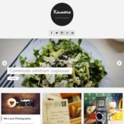 Kamera Blogger Templates