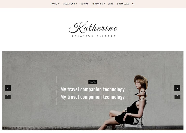 Katherine Blogger Template is a beautiful and minimalist fast loading blogging blogger theme, that looks amazing and professionally fast speed.