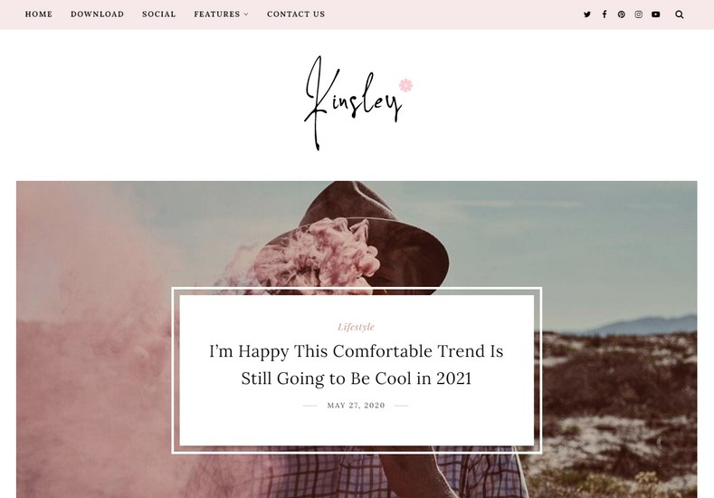 Kinsley Blogger Template is a stylish and elegant looking blogspot theme with attractive design that helps you create outstanding blogs in no time.
