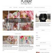 KitKat Minimalist Blogger Templates
