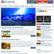 Krono Blogger Templates